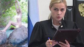 Sexy soudkyně rezignovala: Její nahé fotky unikly na veřejnost!