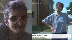 Vězeňkyně Máňa kroutí 39. trest. Za 27 let byla jen 4 měsíce na svobodě