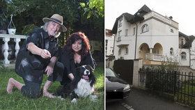 Režisér Jakubisko (81) a jeho žena Deana: Exekuce! Přišli o vilu za desítky milionů!