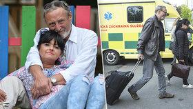 Ladislav Frej s přítelkyní Gábinou jsou jako dva invalidi: Rakovina, operace kolen i cukrovka!