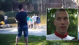 Neúspěšný zachránce utonulého (†20) na Plzeňsku tvrdí: Nikdo mi nepomohl