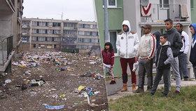 Bída, vši a špína. Sociální pracovnice přiblížily vyloučené lokality Česka