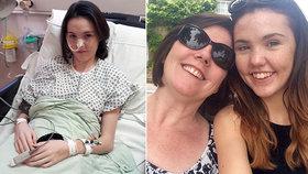 Dívka (19) zvrací třicetkrát za den: Není bulimička, trpí záhadnou nemocí!