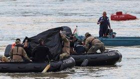 Z Dunaje vytáhli už dvacátou oběť srážky lodí. Proud nesl tělo 30 kilometrů