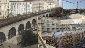 V obloucích Negrelliho viaduktu bude kavárna, galerie i knihovna. Město požádá o územní rozhodnutí