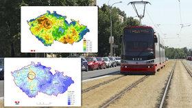 Srážky spásu nepřinesly: Praha je na tom se suchem hůř než většina Česka! Nejméně pršelo v Ruzyni