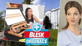 Špičkoví lékaři a hvězda Modrého kódu Sabina Laurinová (47) dohlédnou na vaše zdraví! Poslední Blesk Ordinace míří do Prahy