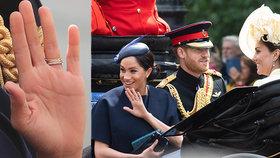 Klenot pro Meghan za porod?! Tajemství nového prstenu vévodkyně odhaleno