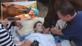 Iva (36) spadla z milovaného koně a ochrnula: Léčba pomáhá, ale stojí statisíce