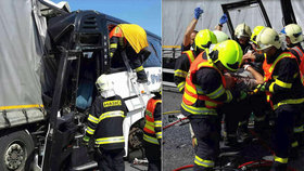Při srážce autobusu s kamionem se zranili malí fotbalisté: Policie případ odložila