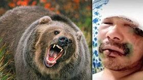 Uhryzl jazyk medvědovi! Neozbrojeného Rusa napadla na Sibiři šelma. Zachránil se!