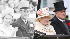 Neuvěřitelných 72 let! Královna Alžběta a princ Philip slaví výročí
