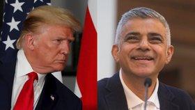 Trump se po vlně vražd obul do starosty Londýna: Khan je katastrofa, bude hůř