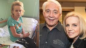 Zničený Krampol po převozu manželky do Bohnic: Má poškozený mozek z léků!