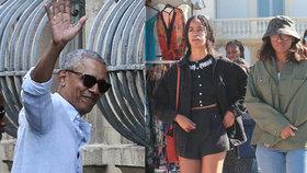 Obamovi vyrazili s dcerami na luxusní dovolenou: Pobyt za miliony a krásy Francie