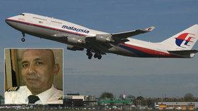 Nová teorie o MH370: Za záhadné zmizení může kapitán, nebyl v kokpitu
