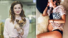 Bibi z Ordinace Šopovská: Omlouvám se fanouškům! Proč těhotenství tajila