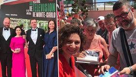 Martha Issová na festivalu v Monte Carlu: Nejdřív za hvězdu, pak zklamání