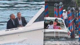 Obamova rodina na dovolené za miliony. V Evropě ji hostil i oscarový Clooney