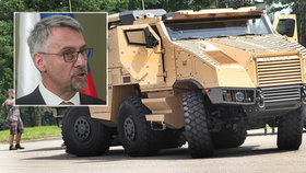 Nákup za miliardy: Armáda dostane nová obrněná vozidla Titus