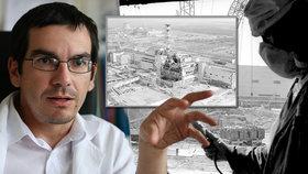 Krvavé skvrny v obličeji po výbuchu v Černobylu? Přehnané, hodnotí seriál lékař