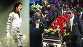 10 let od smrti Jacksona (†50): Modla padla kvůli dětem na klíně a hromadám léků