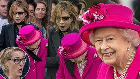 To se nesmí! Muzikant hodil královně šálu kolem krku, o agentku Scullyovou se pokoušel infarkt