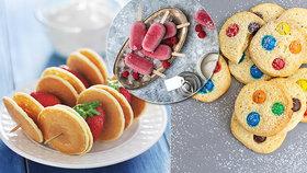 Letní mlsání pro děti: Nanuky, sušenky i palačinkový špíz!