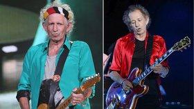 Keith Richards z Rolling Stones už není šedivák! Rockový rebel se obarvil
