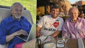 Karel Gott po narozeninové párty odpočívá na Sardinii: Prázdniny s boháčem