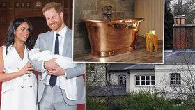 Harry s Meghan poddaným dál pijí krev: Ručně kovaná vana, koberec na míru zničil pes