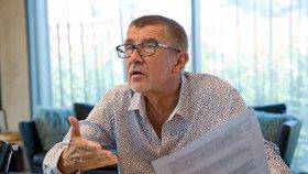 Babiš pro Blesk promluvil o krizi a Zemanovi. A kam vezme Moniku na dovolenou?