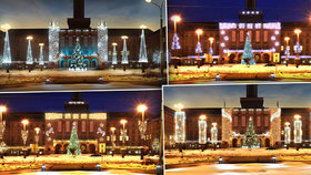 Vedro k padnutí a v Ostravě řeší Vánoce! Lidé vybírají z devíti návrhů výzdoby za více než milion