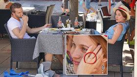 Tajná žádost o ruku ve Varech? Voříšková omylem ukázala zásnubní prsten!