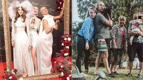 Marie Doležalová si utahuje z Varů: Zdravíme červený koberec z pečení buřtů!