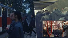 Tramvaje a metro jako kulisy filmu: V Praze natáčel světoznámý režisér se zpěvákem z Radiohead