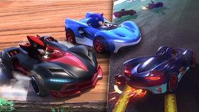 Naspeedovaný ježek válí na trati! Recenze Team Sonic Racing
