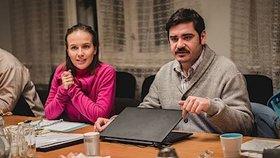 Bývalí milenci jsou teď filmoví manželé: Voříšková hysterka, Kotek podpantoflák