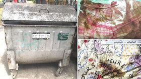 Vražda miminka v Karviné: Do popelnice ho hodili v tomhle povlečení! Poznáte ho?