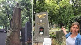 Hroby v Praze k adopci! Oldřiška nechce, aby se na významné lidi české historie zapomnělo