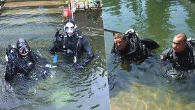 Dvojice potápěčů překonala český rekord: Pod vodou strávili nonstop celý týden