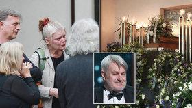 Poslední »klapka« pro Martina Kurela (†58): Plakala Bydžovská i Trojan