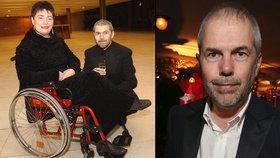Marek Eben o prvních chvílích po ochrnutí manželky: Pohádali jsme se už v nemocnici!