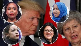 Trump posílal kongresmanky do zemí zamořených zločinem. Omluvit se nehodlá