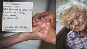 Poslední básnička pro Helenku (†85): Leť a buď svobodná! Oblíbená babička podlehla Parkinsonově chorobě
