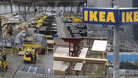 IKEA zavírá továrnu na police a skříňky. Závod je jediný v USA