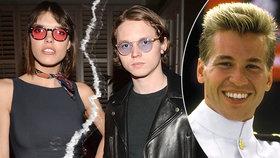 Česká topmodelka a syn Kilmera z Top Gunu: Nečekaný rozchod! A rovnou náhrada