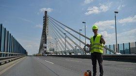 Lanový most na Jižní spojce se nebude přejmenovávat: Zůstane mu složitý název pro lepší orientaci