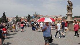 Do Prahy se vrací tropy: Teploty porostou i přes třicet stupňů