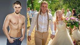Dámy, vytáhněte kapesníčky! Fešák z Fantoma opery se oženil!